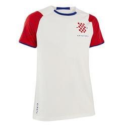 Voetbalshirt FF100 voor volwassenen Kroatië thuis