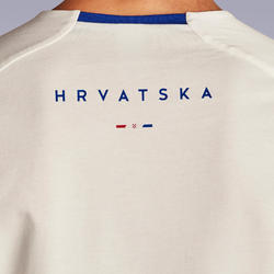 Kroatië voetbalshirt FF100 heren supportershirt EK 2020 wit