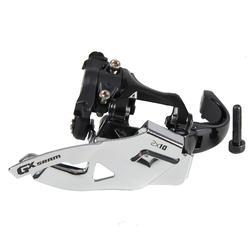 Voorderailleur SRAM GX 2x10 versnellingen top en down pull lage klemband 31,8 mm