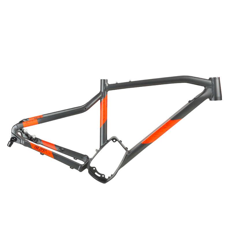 FRAME MTB Cycling - EST900 Frame - Orange ROCKRIDER - Bike Parts