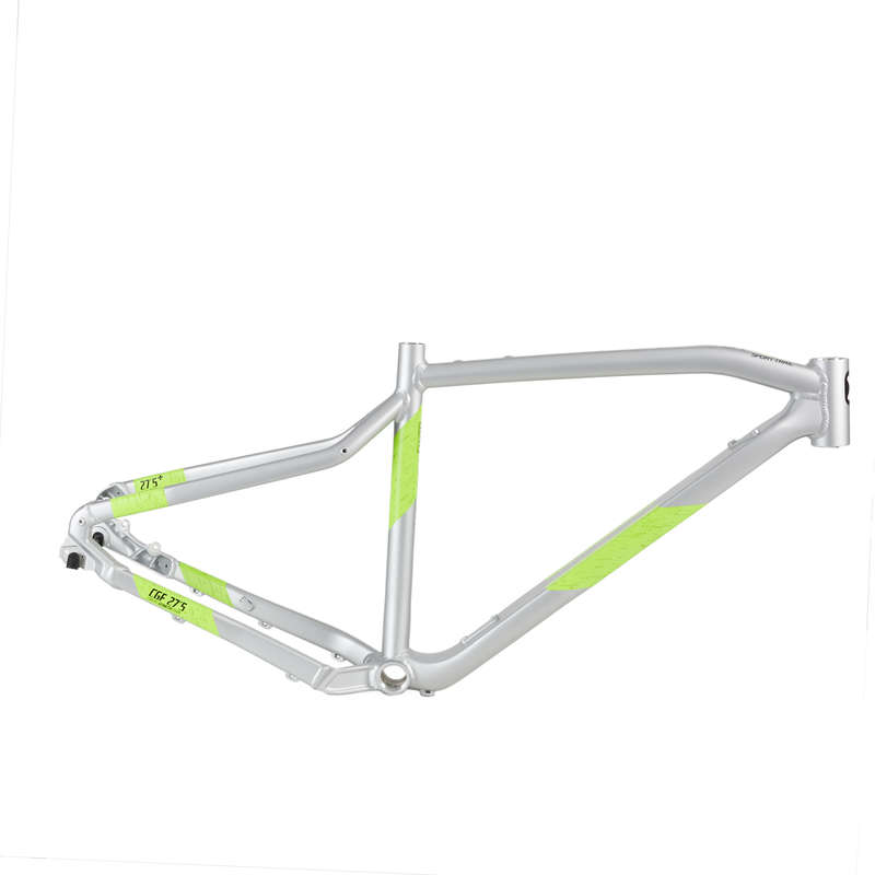 FRAME MTB Cycling - E-ST 500 Frame - Yellow ROCKRIDER - Bike Parts