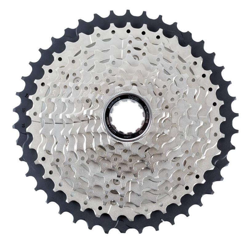 Převody Cyklistika - KAZETA 10 R 11×42 DEORE SHIMANO - Náhradní díly na kolo