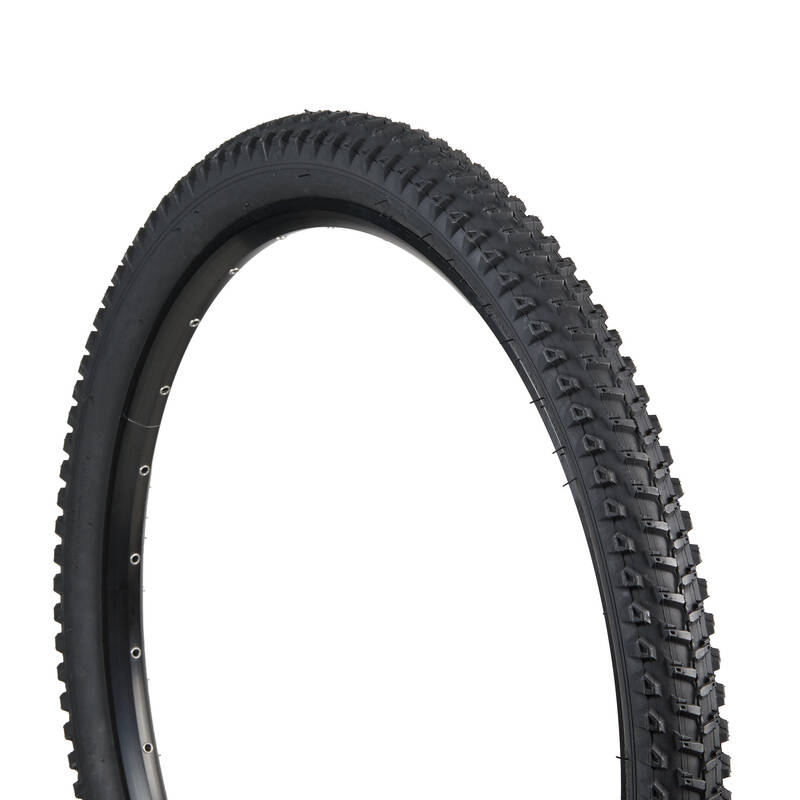 PLÁŠTĚ HORSKÝCH KOL Cyklistika - PLÁŠŤ 27,5 × 2,2 60 TPI SOFT ROCKRIDER - Náhradní díly na kolo