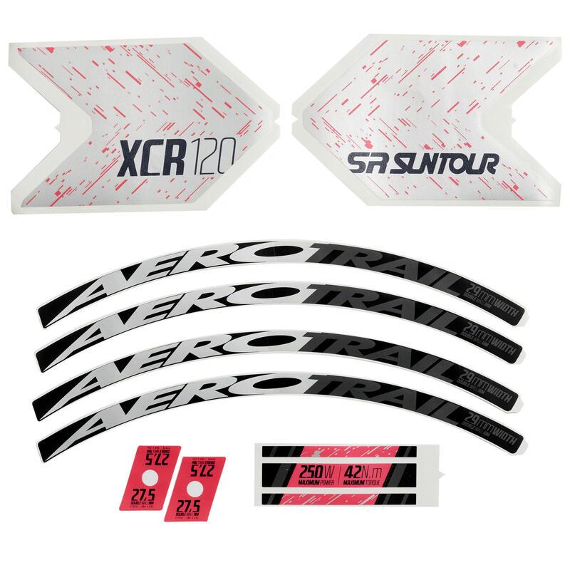 Stickers Set E-ST500 - Pink