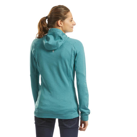 WOMEN'S STRETCH CLIMBING FLEECE - COLOUR BLUE GREY
