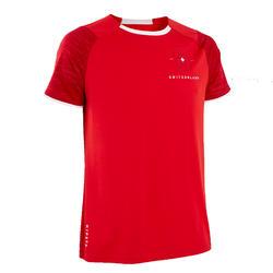 T-shirt de Futebol Adulto FF100 Suíça