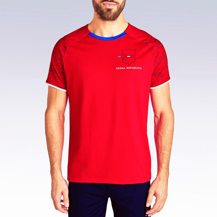 T-shirt de football adulte FF100 Republique Tcheque