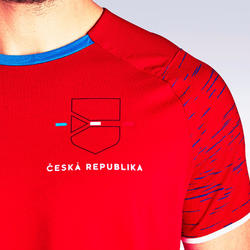 T-shirt de football adulte FF100 Republique Tcheque