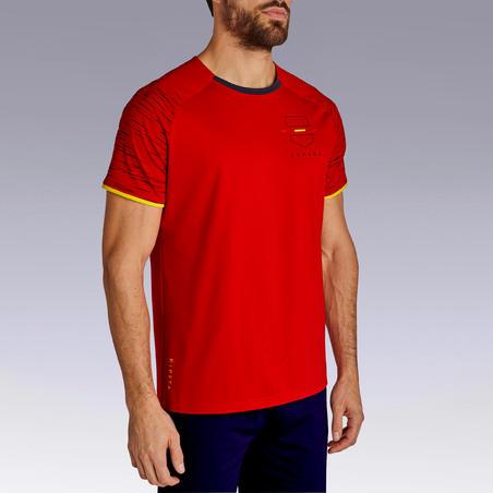 Ispanijos futbolo marškinėliai.