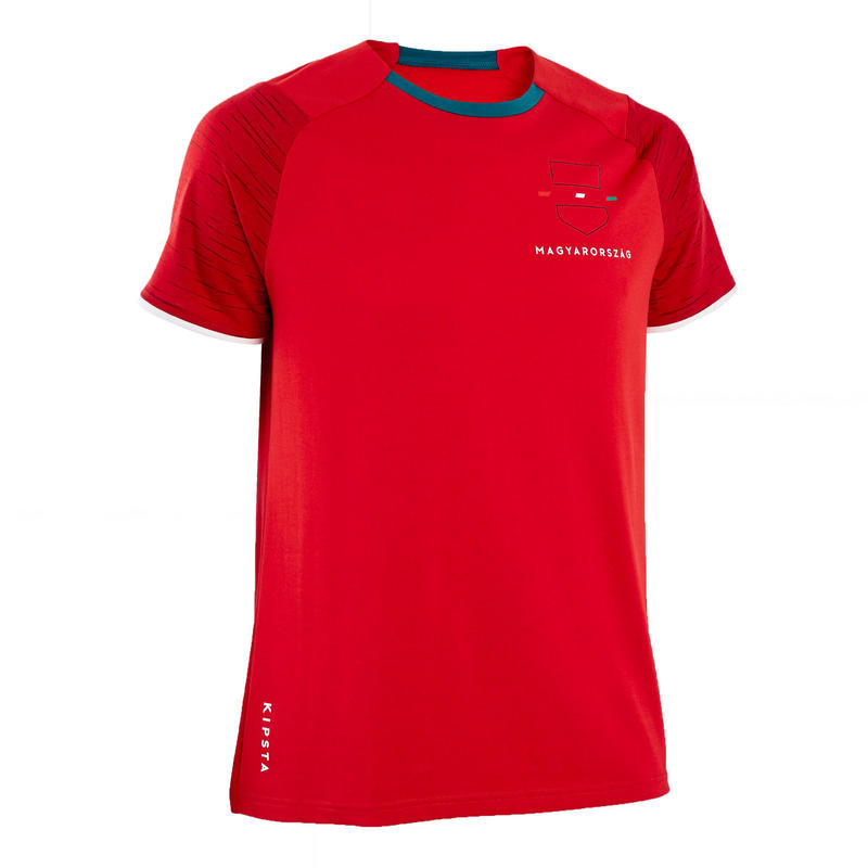 T-shirt de football adulte FF100 Hongrie