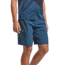 SHORT D'ESCALADE TECHNIQUE STRETCH HOMME - COULEUR BLEU ANTIQUE
