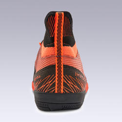 Zaalvoetbalschoenen GINKA 900 Mid oranje