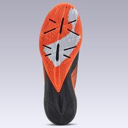 Zaalvoetbalschoenen voor kinderen GINKA Mid 900 oranje