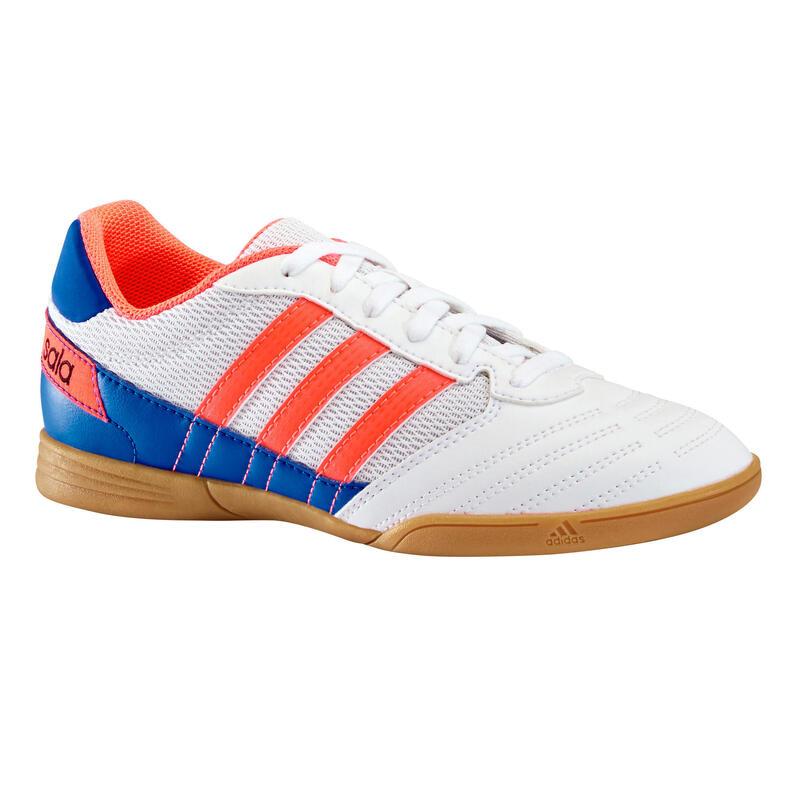 Chaussure de Futsal enfant SUPER SALA Blanche
