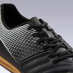 石地足球鞋Agility 100 Sala-黑色