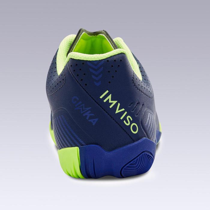 Chaussures de Futsal GINKA 500 bleu foncé