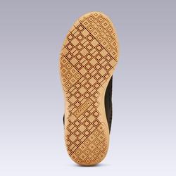 Chaussures de Futsal 100 enfant noir rouge