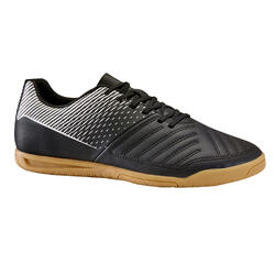 成人款室內五人制足球鞋Agility 100 Sala-黑色
