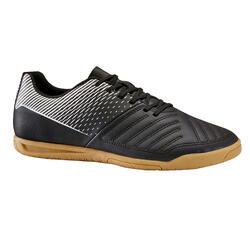 Zaalvoetbalschoenen voor volwassenen 100 zwart