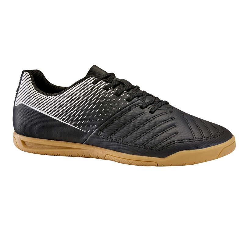 HALLENSCHUHE ERW Fussball - Futsalschuhe 100 schwarz IMVISO - Fußballschuhe