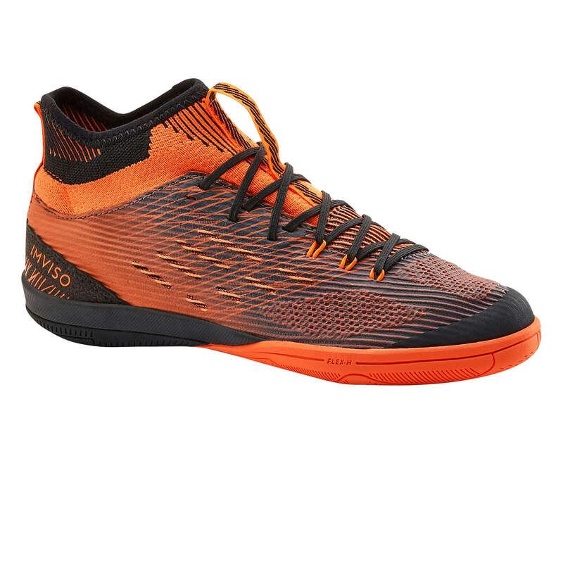 FUTSALSKOR JUNIOR Barnskor - GINKA 900 Mid Futsal JR orange IMVISO - Typ av sko