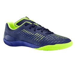Zaalvoetbalschoenen voor heren Ginka 500 donkerblauw