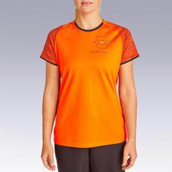 Nederland voetbalshirt FF100 dames supportershirt EK 2020 oranje