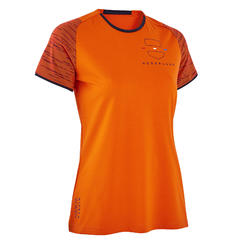 T-shirt Futebol FF100 Mulher Holanda