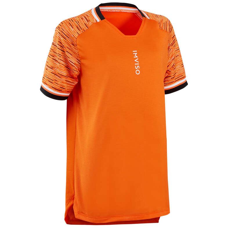 ÎMBRĂCĂMINTE FUTSAL COPII Futsal - Tricou Futsal portocaliu copii IMVISO - Futsal
