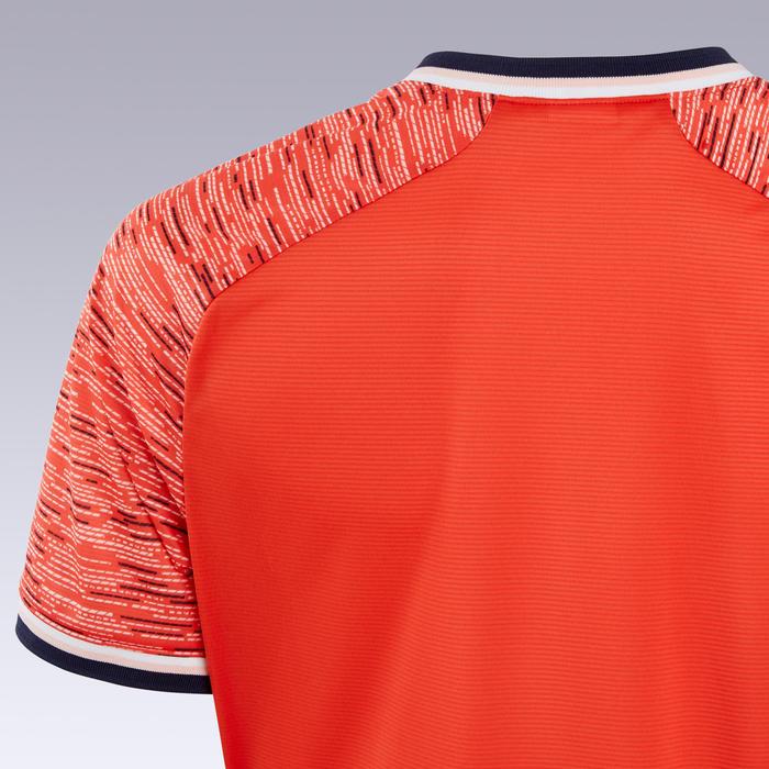 Zaalvoetbalshirt dames rood