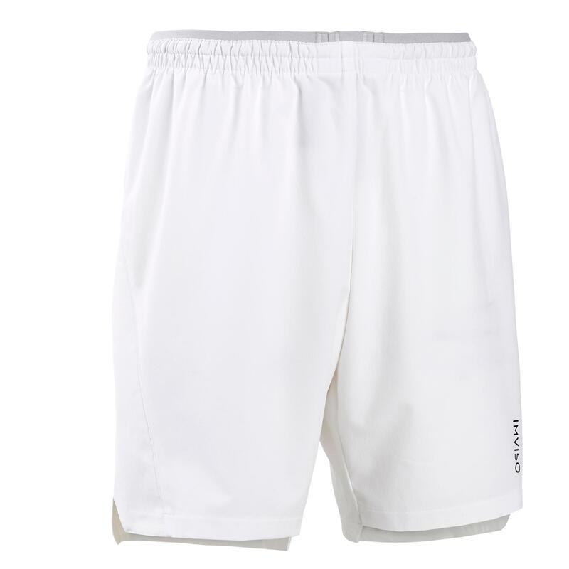 Short de Futsal Homme blanc