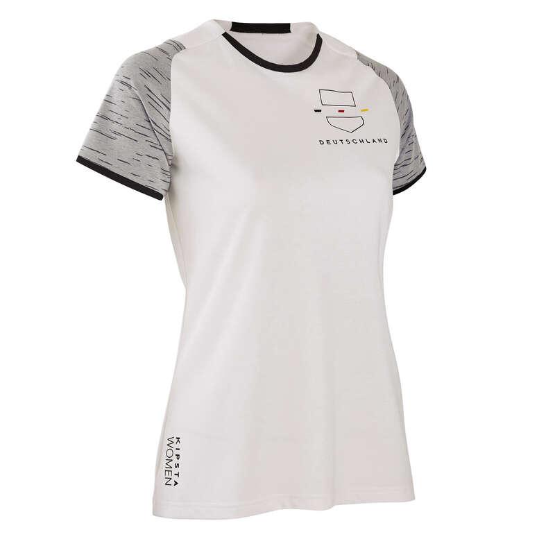 Echipa naţională a Germaniei Imbracaminte - Tricou F100 Germania Damă  KIPSTA - Sporturi