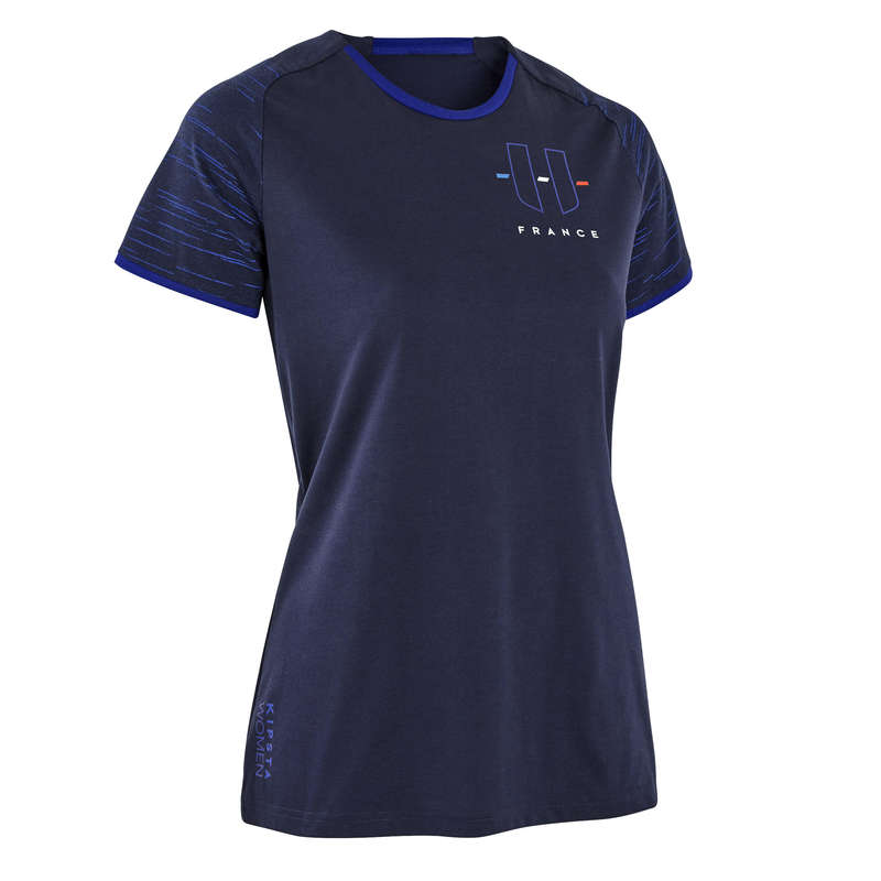 França Mundial 2014 - T-shirt FF100 França Mulher KIPSTA