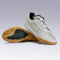 Chaussures de Futsal GINKA 500 gris clair