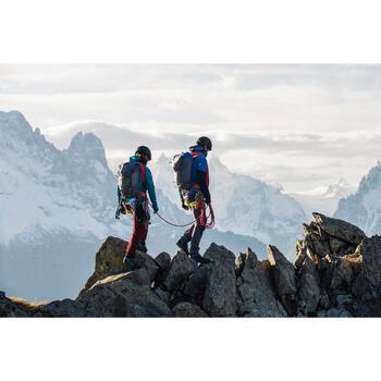 Doudoune hybride d'alpinisme femme - SPRINT Bleu