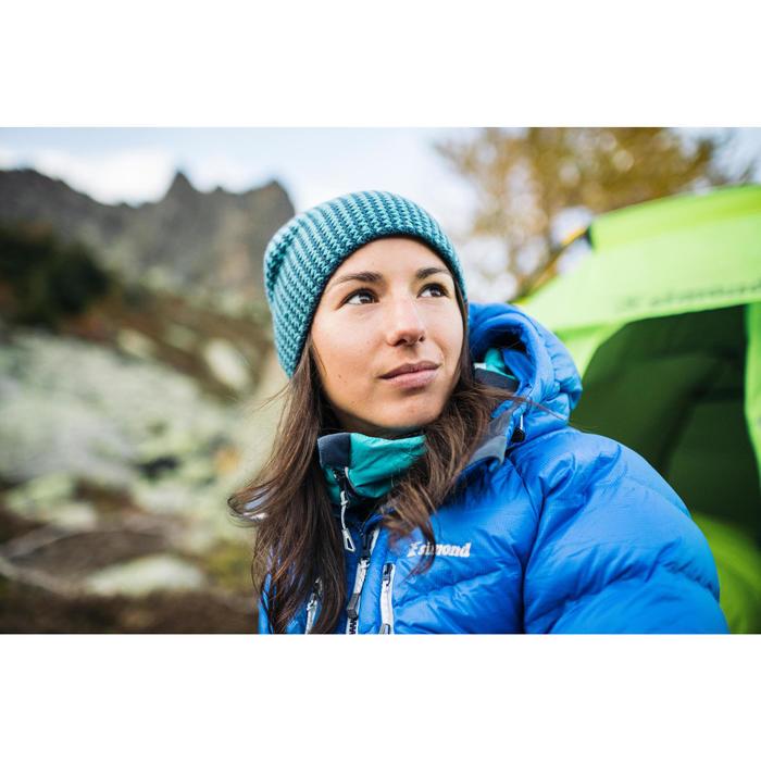 Doudoune en duvet d'alpinisme femme - MAKALU Bleu