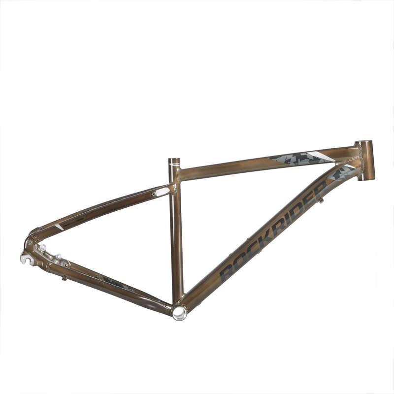 FRAME MTB Cycling - ST 540 Frame - Titanium ROCKRIDER - Bike Parts