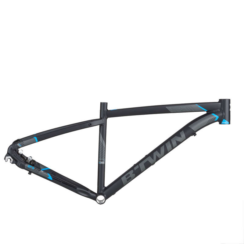 FRAME MTB Cycling - ST 520 Frame - Black ROCKRIDER - Bike Parts