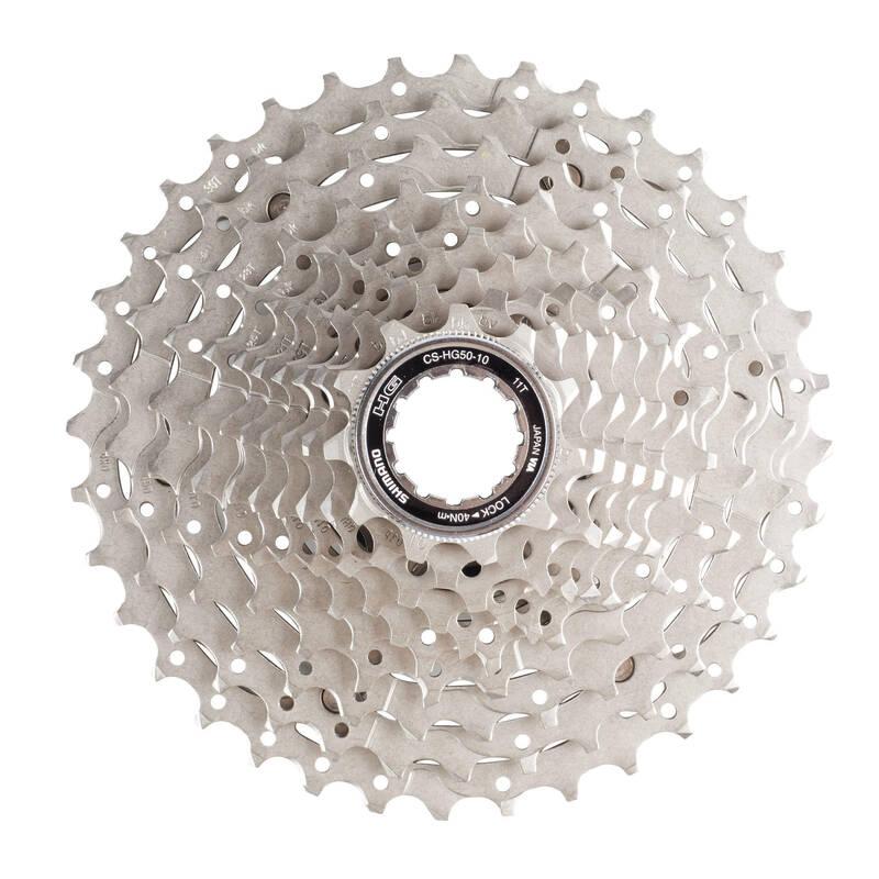 Převody Cyklistika - KAZETA 10 R 11×36 SHIMANO - Náhradní díly a údržba kola
