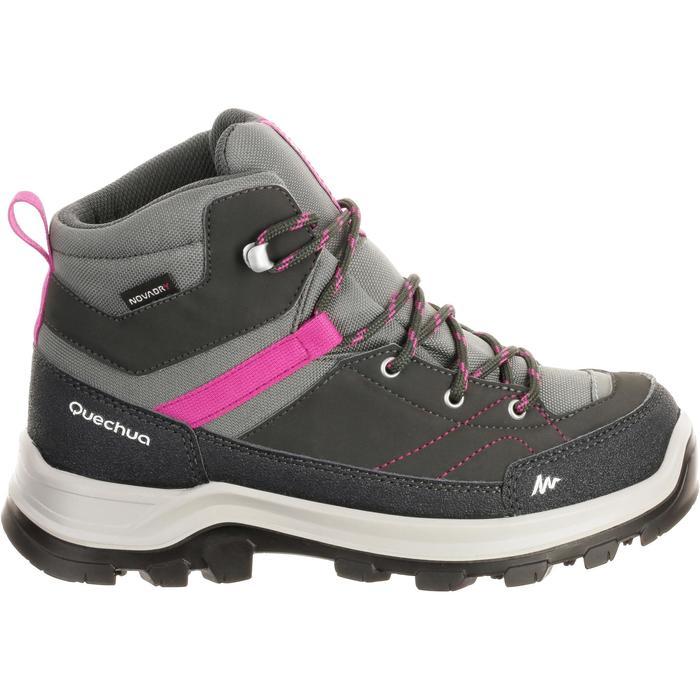 Chaussures de randonnée montagne enfant MH500 mid imperméable - 180229
