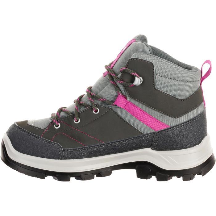 ec65359f3 Botas de montaña y trekking niños Forclaz 500 Mid impermeable rosa talla  28-38