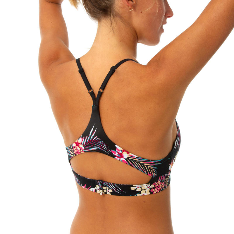 ROXY TRIANGLE BRA adjustable straps and back, removable cups