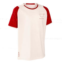Polen voetbalshirt FF100 kind supportershirt EK 2020 wit
