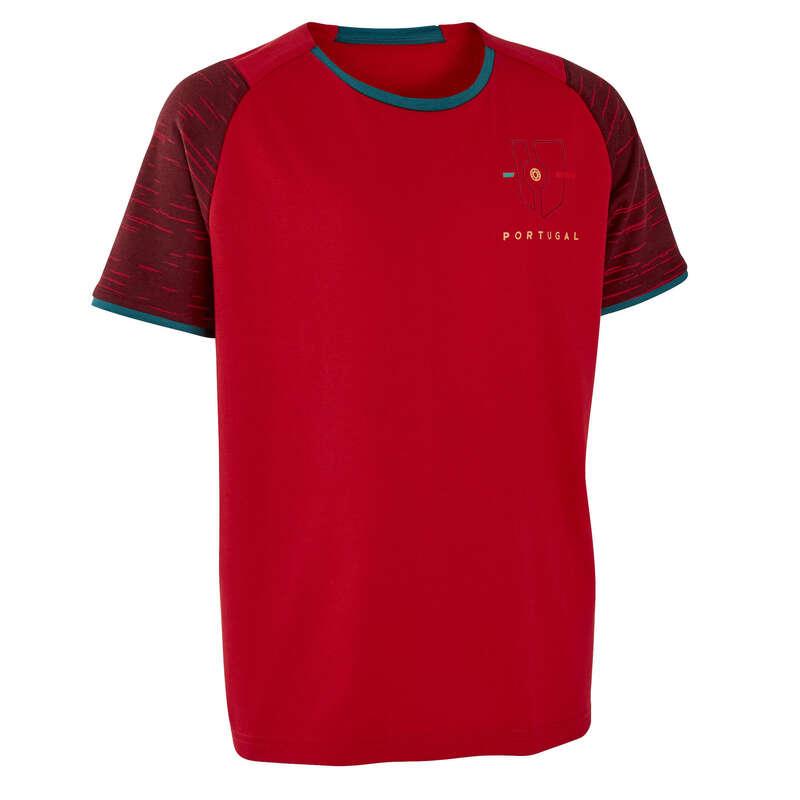 Portugal Mundial 2014 - T-shirt criança FF100 Portugal KIPSTA
