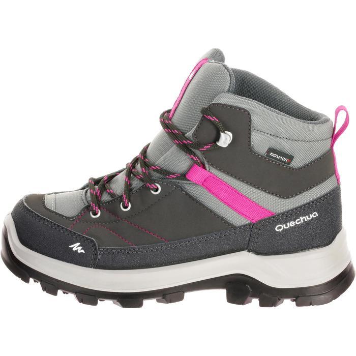 Chaussures de randonnée enfant Forclaz 500 Mid imperméables - 180235
