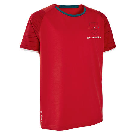 Vaikiški Vengrijos futbolo marškinėliai.