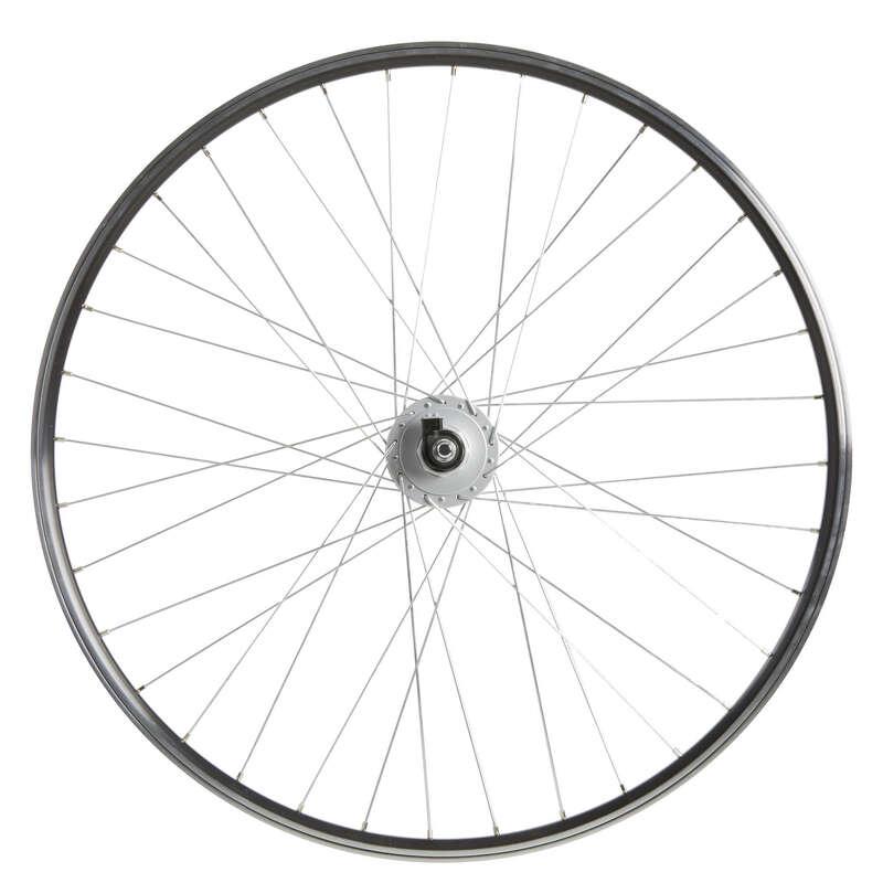 RUOTE BICI CITTA' Ciclismo, Bici - Ruota ant città 28 dy DP nera WORKSHOP - PEZZI DI RICAMBIO BICI CITTA'