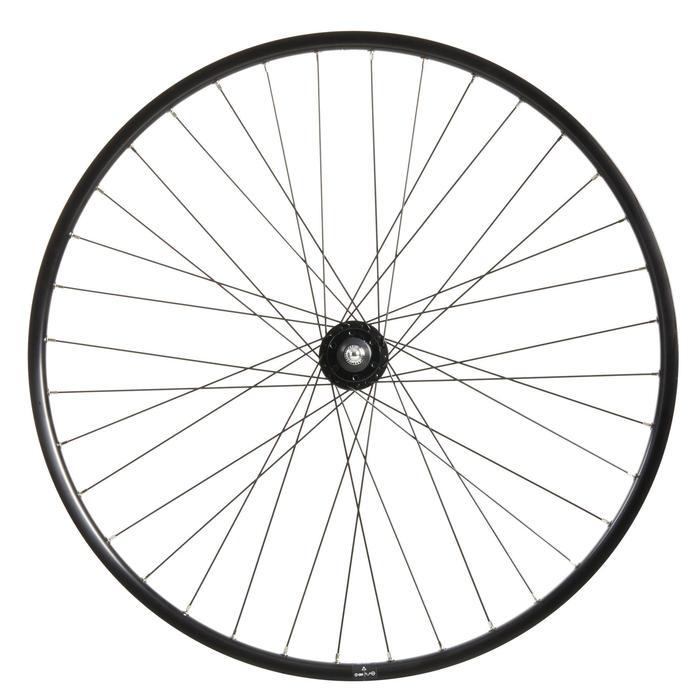 roue ville avant 28 pouces double parois disque six trous