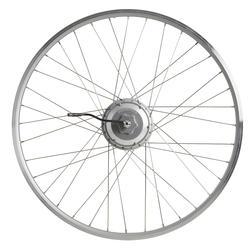Achterwiel voor elektrische fiets 28 inch dubbelwandig 24v zilver