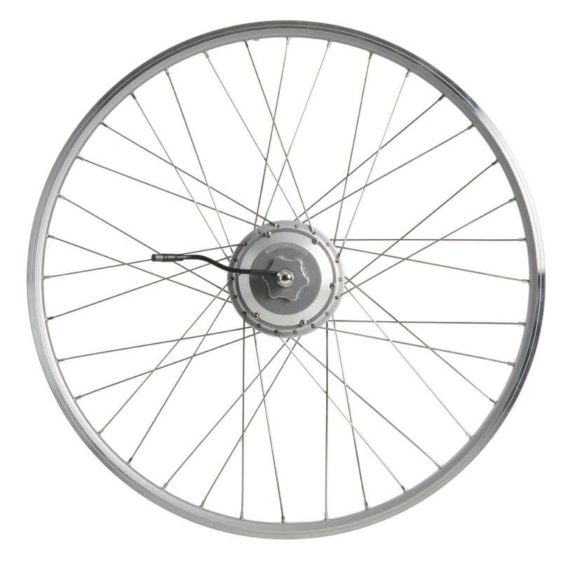 SILNIČNÍ, TREKOVÁ KOLA Cyklistika - ZADNÍ KOLO 24 V 28
